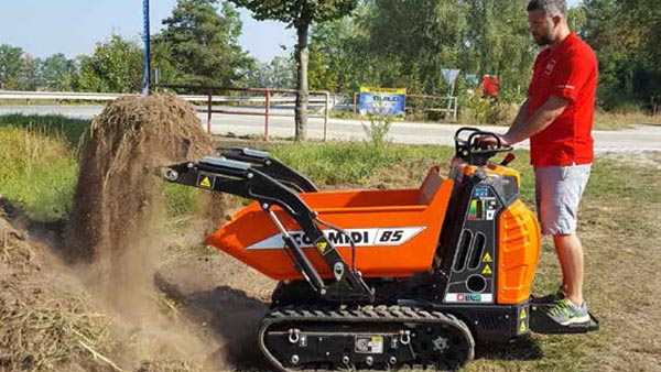 Next day mini dumper hire near me